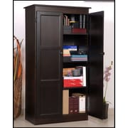 Concepts in Wood 30'' Multi-Use Storage Cabinet; Espresso