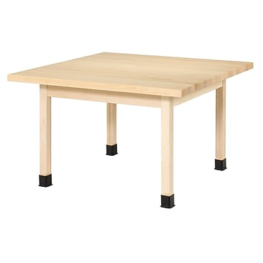 Diversified Woodcrafts Shain 48'' Square Table, Maple (WX4M)