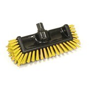 SYR Scrator Brush BLacK with Bristles; Yellow