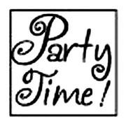 Manuscript Decorative Party Time Resin Wax Seal