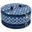 Picnic At Ascot Trellis Cake Carrier; Blue