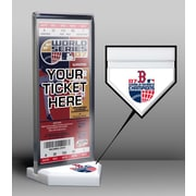 That's My Ticket World Series Champions Ticket Display Stand; 2007 - Boston Red Sox