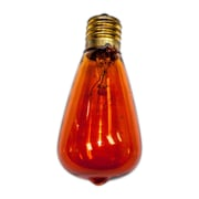String Light Co Incandescent Light Bulb (Pack of 12); Amber