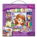Artistic Sutdios Sofia the First Sticker Box with Handle