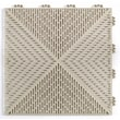 Mats Inc. Quick Click Polypropylene 14.88'' x 14.88'' Interlocking Deck Tiles in Sand