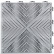 Mats Inc. Quick Click Polypropylene 14.88'' x 14.88'' Interlocking Deck Tiles in Gray