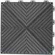 Mats Inc. Quick Click Polypropylene 14.88'' x 14.88'' Interlocking Deck Tiles in Graphite