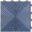 Mats Inc. Quick Click Polypropylene 14.88'' x 14.88'' Interlocking Deck Tiles in Blue