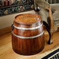 Design Toscano French Wine Barrel Side Table