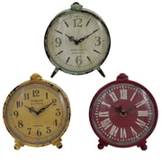 Import Collection 3 Piece Gilbert Clock Set
