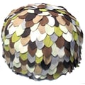 Divine Designs Earth Pouf Ottoman