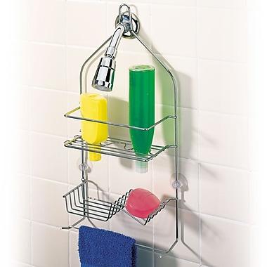 better bath clever shower caddy chrome staples 174