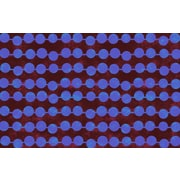 Thumbprintz Line Dots Bright Rug; 3'1'' H x 1'10.5'' W