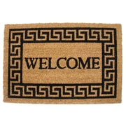 J&M Home Fashions Welcome Doormat