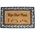 J&M Home Fashions Wipe Your Paws Doormat