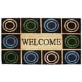 J&M Home Fashions Circles Doormat