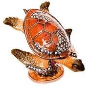Alexander Kalifano Vanity Sea Turtle Crystal Gift Box