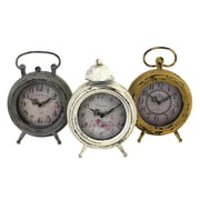 Import Collection 3 Piece Elsa Clock Set