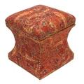 Divine Designs Lila Ottoman
