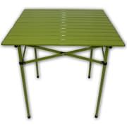 String Light Co Lightweight Aluminum Picnic Table; Green