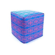 Divine Designs Tribal Outdoor Pouf Ottoman