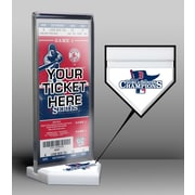 That's My Ticket World Series Champions Ticket Display Stand; 2013 - Boston Red Sox