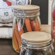 Creative Co-Op Natural Home Jar with Lid