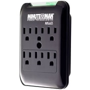 PARA SYSTEMS DBA MINUTEMAN UPS Slim 6-Outlet Wall MMS660S Tap 1080 Joules