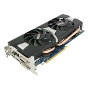 SAPPHIRE DUAL-X OC 11221-00-20G Radeon R9 280X PCIe 3GB DDR5 DVI-I/DVI-D/HDMI/DP Video Card