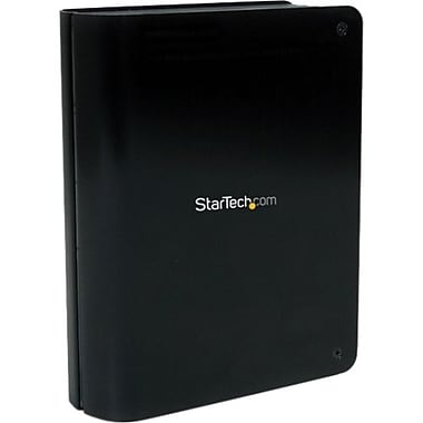 StarTech SATA III Hard S3510BMU33B Drive Enclosure with Fan and Upright Design