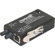 TRANSITION NETWORKS Industrial Mini M/E-ISW-FX-01AC Bridging Media Converter