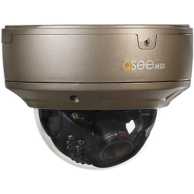 Q-See QTN8022D Wired Varifocal HDL IP Dome Camera with Day/Night, Brass