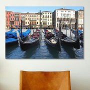 iCanvas 'Gondolas' by Chris Bliss Photographic Print on Canvas; 12'' H x 18'' W x 0.75'' D