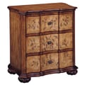 Stein World Tuscan Villa Floral 3 Drawer Accent Chest