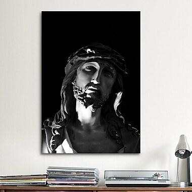 iCanvas Jesus Christ Sculpture Photographic Print on Canvas; 12'' H x 8'' W x 0.75'' D