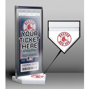 That's My Ticket Home Plate Ticket Display Stand; Boston Red Sox
