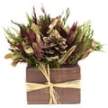 Urban Florals Holiday Spruce Desk Top Plant in Planter