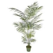 House of Silk Flowers Artificial Areca Palm Tree