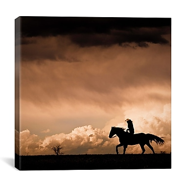 iCanvas ''Ride the Storm #2'' by Dan Ballard Photographic Print on Cavas; 18'' H x 18'' W x 1.5'' D