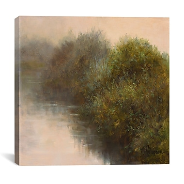 iCanvas ''River Vignette'' by Kathie Thompson Painting Print on Cavas; 18'' H x 18'' W x 1.5'' D