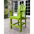 Shine Company Inc. Westport Counter Adirondack Chair; Lime Green