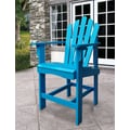 Shine Company Inc. Westport Counter Adirondack Chair; Turquoise