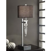 Crestview Transitions Celest 29.5'' H Table Lamp with Drum Shade