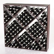 Wine Enthusiast Companies 120 Bottle Wine Rack; Mahogany