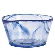 Kosta Boda Mine Small Bowl; Blue
