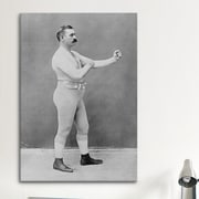 iCanvas Boxing Champion John L. Sullivan Photographic Print on Canvas; 18'' H x 12'' W x 0.75'' D