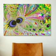 iCanvas Digital Eyes of the Universe Graphic Art on Canvas; 26'' H x 40'' W x 0.75'' D