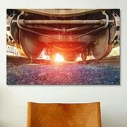 iCanvas 'Atomic Train' by Sebastien Lory Photographic Print on Canvas; 12'' H x 18'' W x 1.5'' D