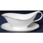 Nikko Ceramics Platinum Beaded Pearl Gravy Boat