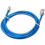 Morris Products 240'' Cat 5E UTP Patch Cord in Blue
